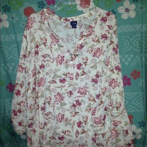 Basic Editions 3X blouse